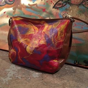 Customize painted purse